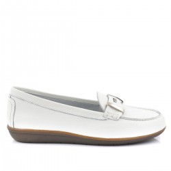 Mocasines 24H color blanco 22825