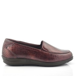 Mocasines 24H color burdeos 22961